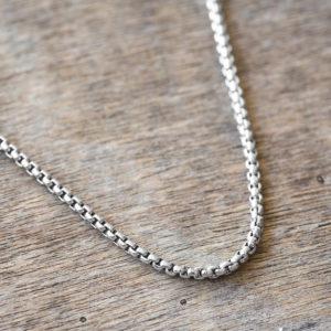 שרשרת כסף לגבר - שרשרת קלאסית לגבר - שרשרת לגבר - מתנה לגבר - גליס תכשיטים - galis jewelry - gift for men - classic necklace