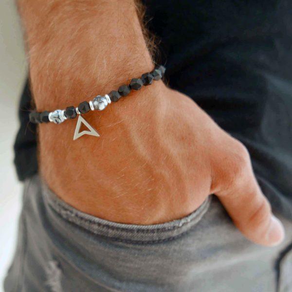 תכשיטים לגבר - צמיד אבני חן לגבר - צמידים לגבר - גליס תכשיטים